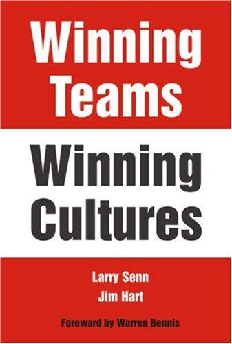 9780963601841: Winning Teams-Winning Cultures: 1