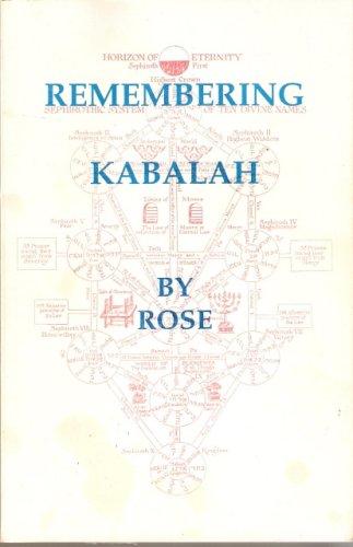 Remembering Kabalah