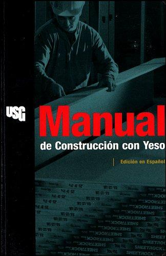 9780963686244: Manual de Construccion Con Yeso = Gypsum Construction Handbook (Rsmeans)