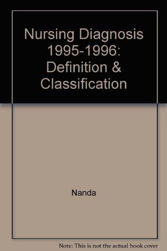 9780963704214: Nursing Diagnosis 1995-1996: Definition & Classification