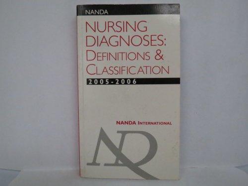 9780963704245: Nanda Nursing Diagnoses: Definitions and Classification 2005-2006