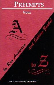 Preempts from A to Z: Andersen, Ron, Zenkel, Sabine