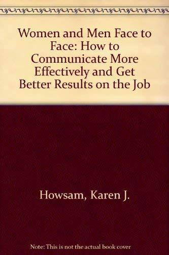 Women and Men: Face to Face: Karen Howsam