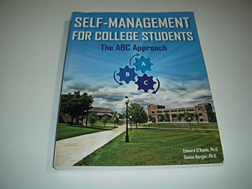 9780963780157: Self-Management for college students