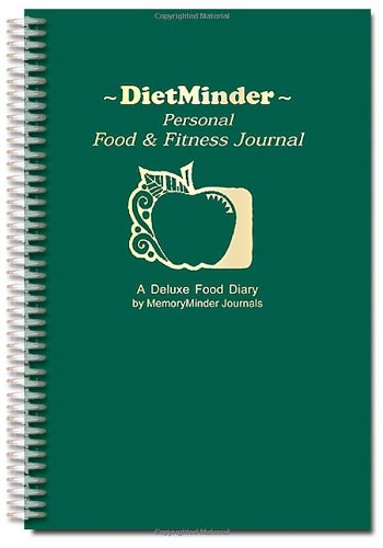 9780963796837: DIETMINDER Personal Food & Fitness Journal (A Food and Exercise Diary)