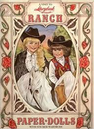 9780963861405: A Visit to Storybook Heirlooms Ranch - Paper Dolls w/ Sticker Wardrobe
