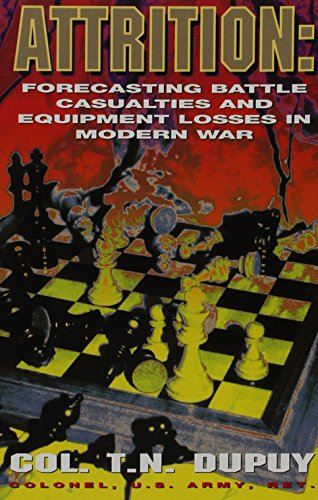 9780963869234: Attrition: Forecasting Battle Casualties and Equipment Losses in Modern War
