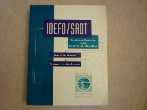 IDEF0 - Sadt Business Process & Enterprise: David A. Marca;