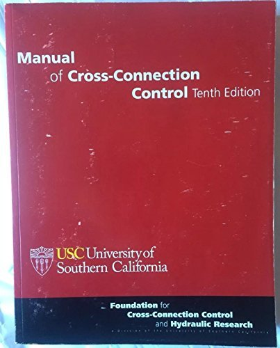 9780963891228: Manual of Cross-Connection Control, October 2009, 10th Edition