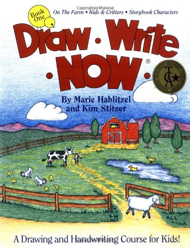 9780963930712: Draw Write Now, Book 1: On the Farm-Kids and Critters-Storybook Characters (Draw-Write-Now)