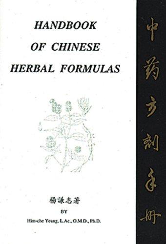 9780963971517: Handbook of Chinese Herbal Formulas