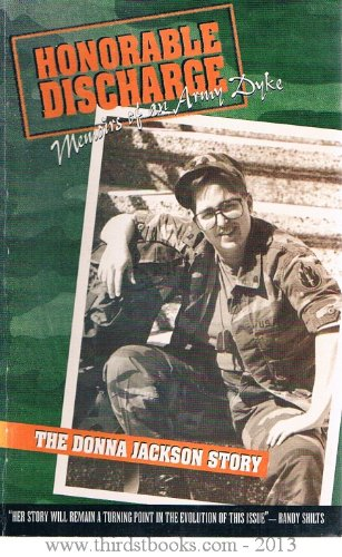 9780963985507: Honorable Discharge Memoirs of an Army Dyke: The Donna Jackson Story