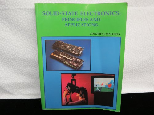 9780963985743: Solid-State Electronics: Principles and Applications