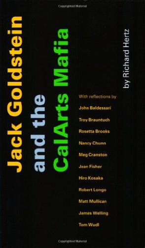 Jack Goldstein and the CalArts Mafia: Richard Hertz