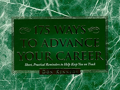 9780964038066: 175 Ways to Advance Your Career