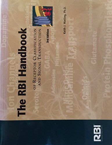 9780964054820: The Sigma-Rbi Handbook of Receptor Classification and Signal Transduction