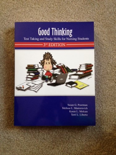 9780964055643: Good Thinking: Test Taking and Study Skills for Nursing Students