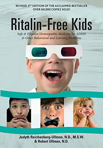 9780964065413: Ritalin-Free Kids: Safe and Effective Homeopathic Medicine for ADHD and Other Behavioral and Learning Problems