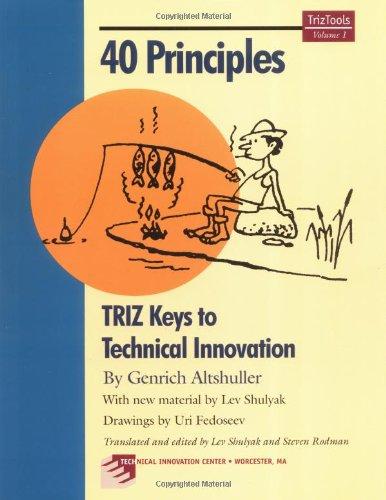 9780964074033: 40 Principles: TRIZ Keys to Technical Innovation (Triztools)
