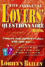 The Original Lovers' Questionnaire Book: Lorilyn Bailey