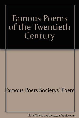 9780964149342: Famous Poems of the Twentieth Century