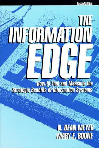9780964163508: The Information Edge