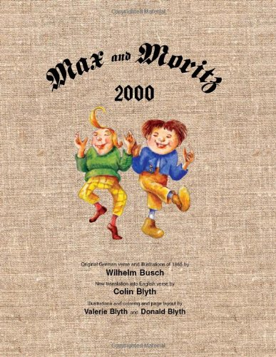 9780964180437: Max and Moritz 2000 (English and German Edition)