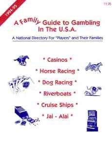 9780964198906: A Family Guide to Gambling in the U.S.A.: A National Directory for