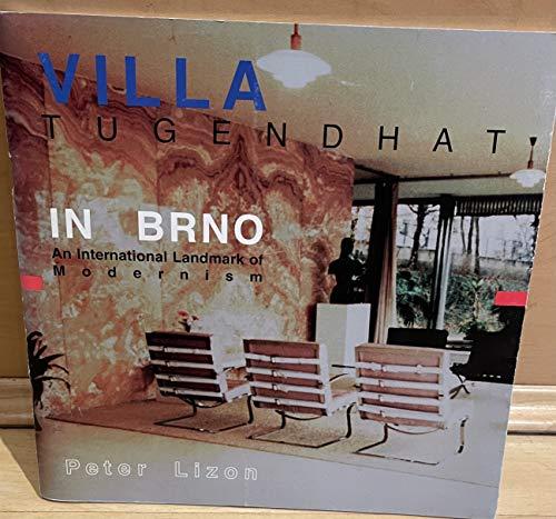 9780964221932: Villa Tugendhat in Brno: International Landmark of Modernism
