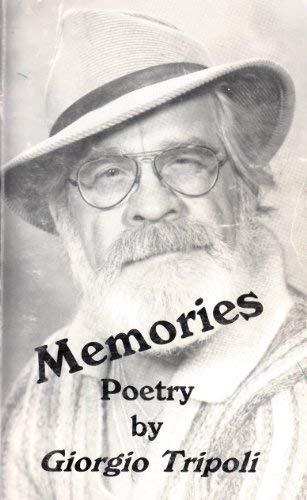 9780964284005: Memories Poetry by Giorgio Tripoli