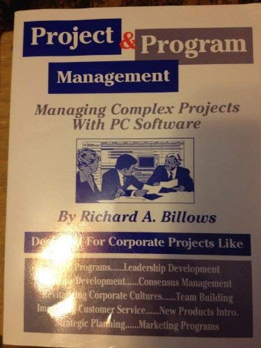 9780964286504: Project & program management