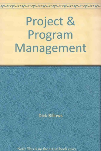 9780964286528: Project & program management