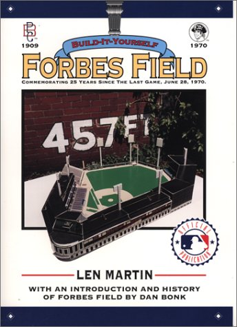 9780964288706: Forbes Field: Build-It-Yourself: With an Introduction and History
