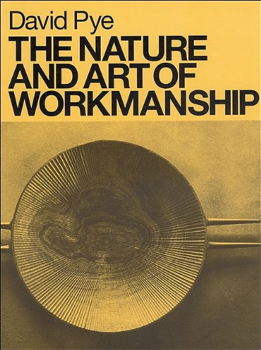 9780964399907: The Nature and Art of Workmanship