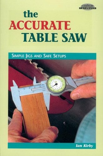 9780964399952: The Accurate Table Saw: Simple Jigs and Safe Setups (Cambium Handbook)