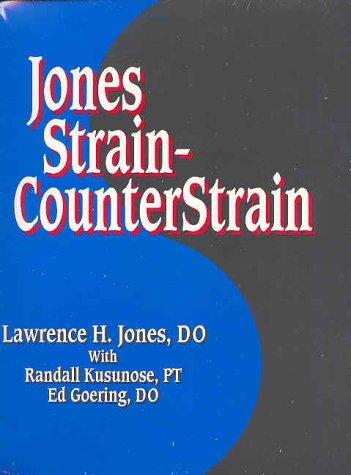 9780964513549: Jones Strain-Counterstrain