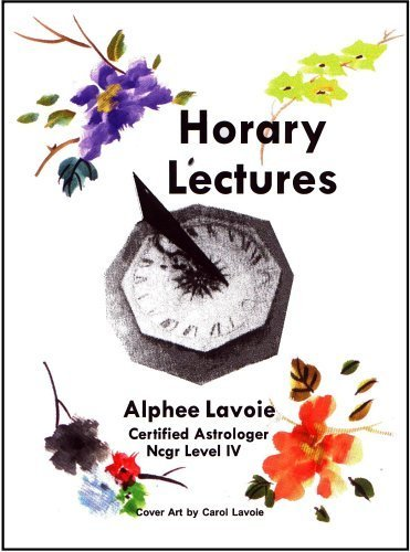 Horary Lectures: Alphee Lavoie