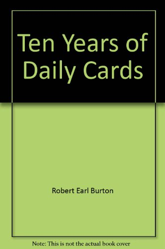 9780964578234: Ten Years of Daily Cards