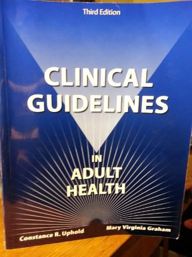 9780964615182: Clinical Guidelines in Adult Health