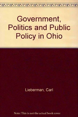 9780964652460: Government, Politics and Public Policy in Ohio