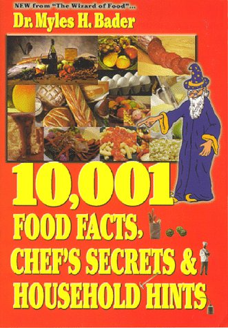 9780964674172: 10,001 Food Facts, Chef's Secrets & Household Hints