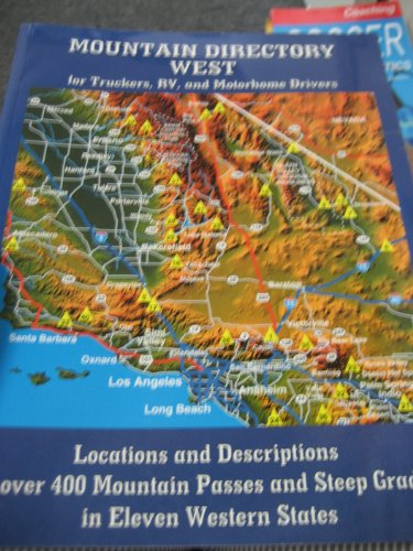 9780964680548: Mountain Directory West for Truckers, RV, and Motorhome Drivers