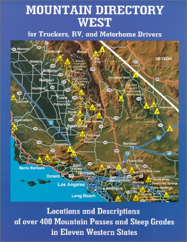 9780964680593: Mountain Directory West for Truckers, RV, and Motorhome Drivers