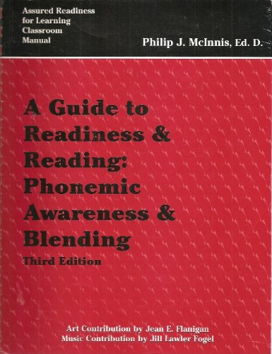 9780964690325: A Guide to Readiness & Reading: Phonemic Awareness & Blending, Third Edition