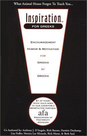 Inspiration for Greeks: Saul, Beth, Morat, Rick, Miranda, Monica Lee, Fedler, Lisa, Duchamp, Damien...