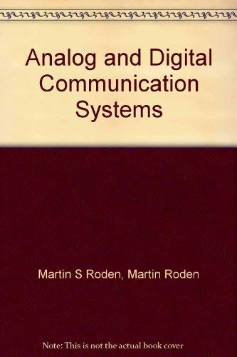 9780964696969: Analog and Digital Communication Systems