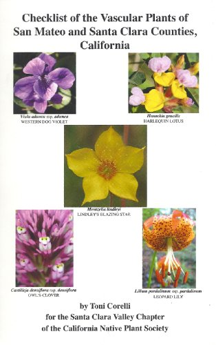 9780964699458: Checklist of the Vascular Plants of San Mateo and Santa Clara Counties, California
