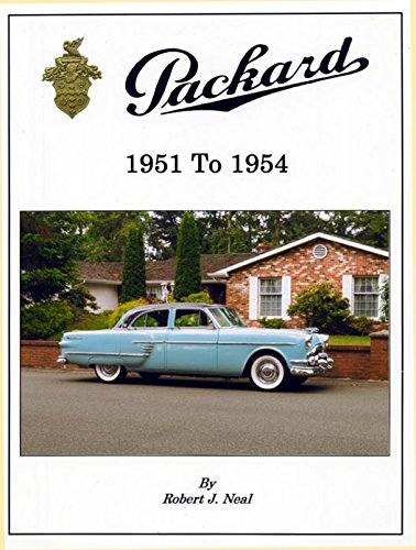 9780964748330: Packard 1951 to 1954