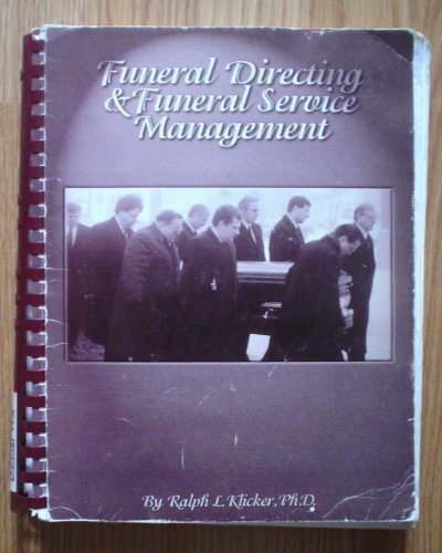 9780964796713: Funeral Directing & Funeral Service Management