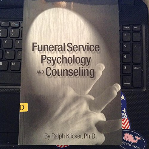 9780964796737: Funeral Service Psychology and Counseling